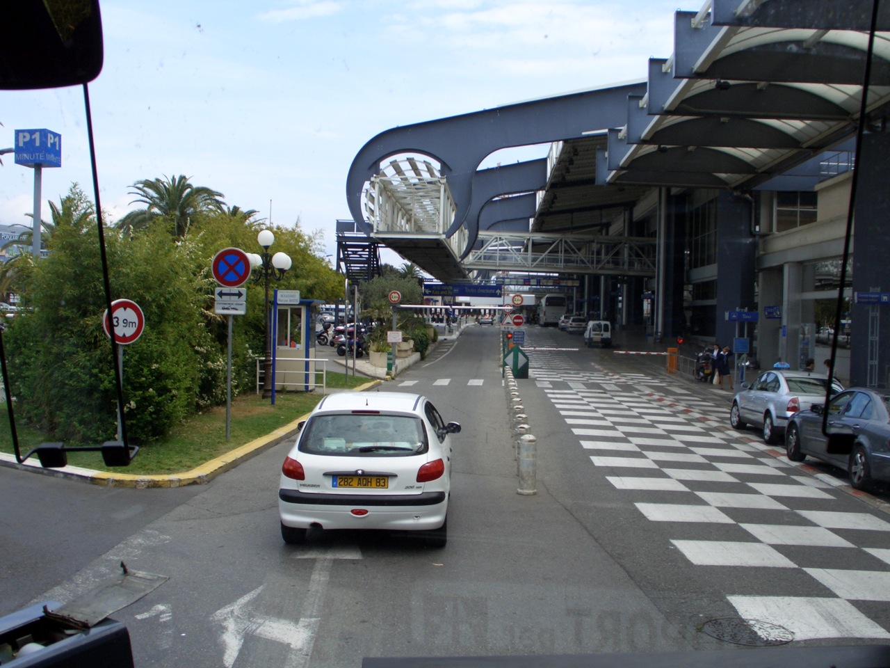 Parking P1, Aéroport de Nice-Côte d'Azur
