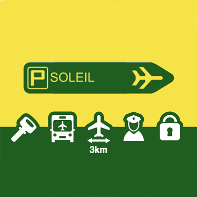 Parking Soleil low cost aéroport Paris Orly