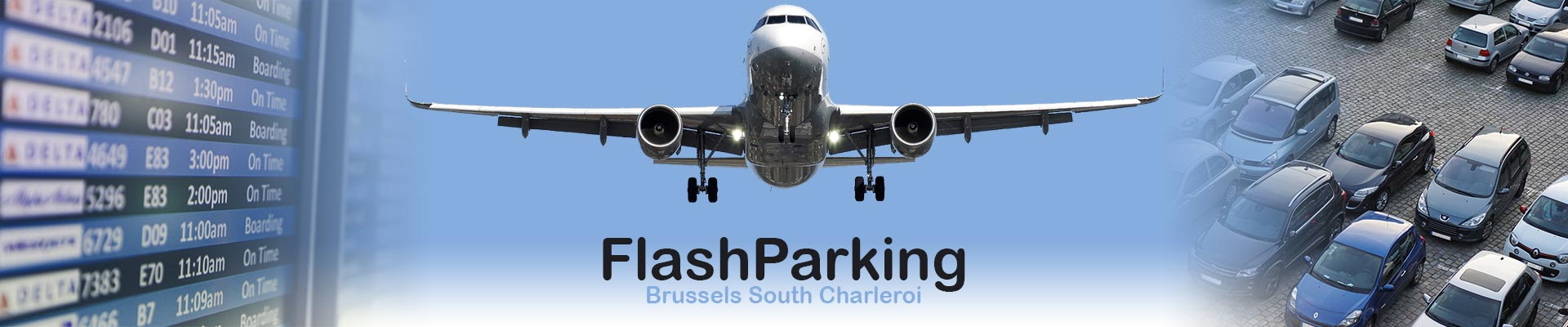 Flash parking aéroport de Parking Aéroport Charleroi
